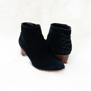 ALDO SUEDE BOOTS ANKLE